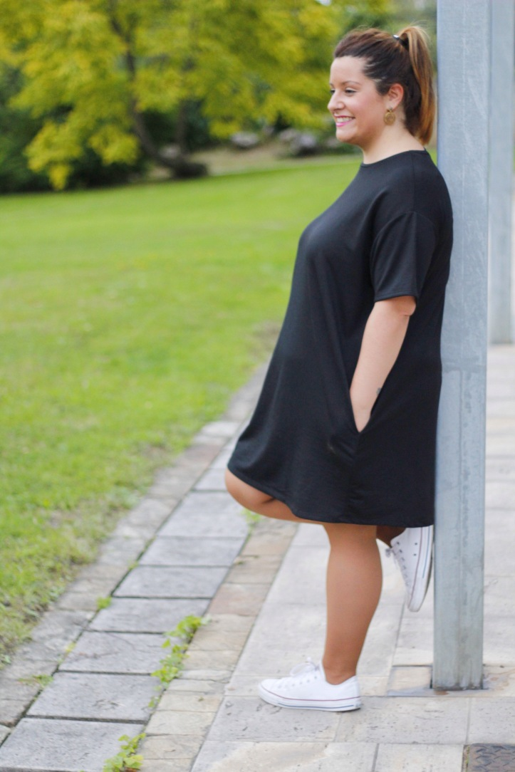 vestido negro-black dress
